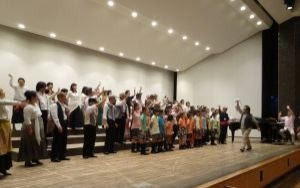 2014年7月19日(土)カルメン前日の総合練習 町田市民ホールにて
